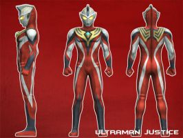 Ultraman Justice by 100nadzmi