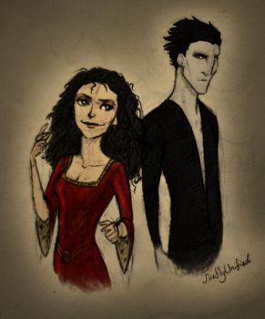 Pitch and Gothel by dewdrop34