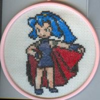 X-Stitch Fanart- Clair by missy-tannenbaum