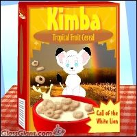100th Deviation - Kimba Cereal by HectorNY