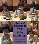 Queen of Summer '13 Lady Malmsteen Sculpt by shinragod