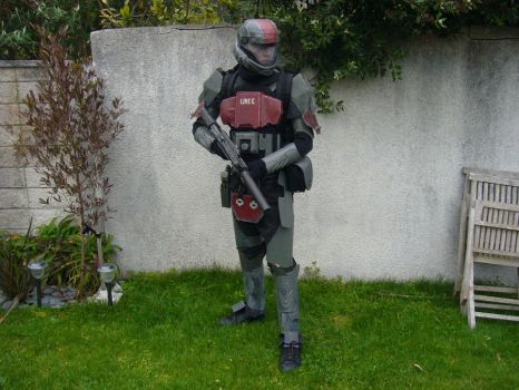 ODST costume by CpCody