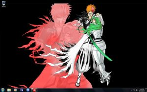 Bleach desktop by crimsonbro