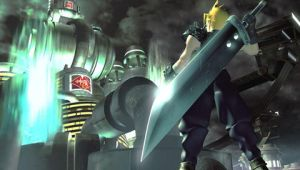 FF7 - Cloud Wall by Shiddo