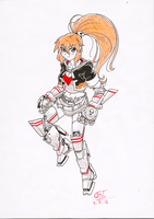 Sonia - The Silent Mecha Girl! by FrancoTieppo