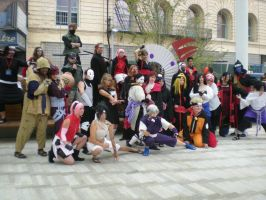 Naruto group by LeonKSpiderKitty