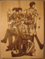 Ouran Host Club 12x16 Burn by Obidesuka