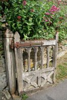 Stock - Gothic Rustic Gate 2 by GothicBohemianStock