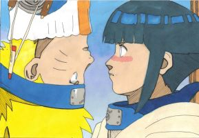 NaruHinacolour by LadyCyco