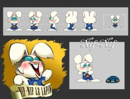 Nif-Nif The LAPIN by DaveDonut