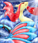 Milotic by lugiagirlz