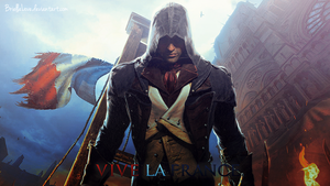 Assassin's Creed Unity Wallpaper by BriellaLove