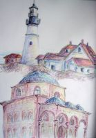Scribble colors - architecture by TadpoleOfDoom