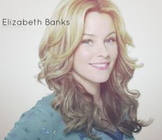 Elizabeth Banks by bubblenubbins