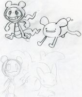 PMD - ADVENTURE THYME - WIP by nyausi
