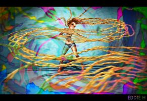 Whip My Hair - Tangled by EddieHolly