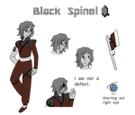 Black Spinel by XaiosSilverStorm21