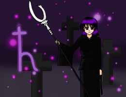 100TC - Sailor Saturn Dark by AbnormalChemistry