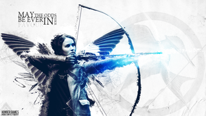 Hunger Games -  Katniss Everdeen by Ferniando