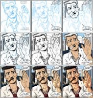 Jonah Jameson step by step by MirrorwoodComics