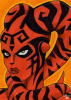 Darth Talon Sketch Card by Todd-the-fox