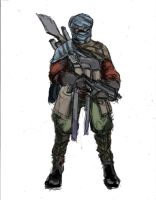 Desert Nomad - Modern Guerilla Fighter by TheLivingShadow
