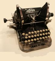 Early typewriter stock - 1895 by barefootliam-stock