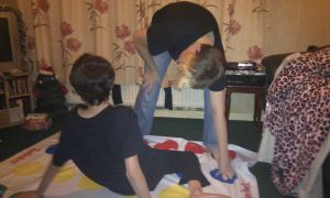 Playing Twister with the Family 2 by demon1993