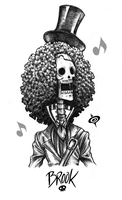 Brook Sketch - Strong World by SPIRALCRIS