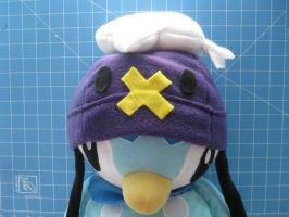 Piplup Cosplays as Drifloon 1 by PaperCadence