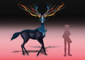 Pokemon X and Y - Xerneas by InfernoZzz