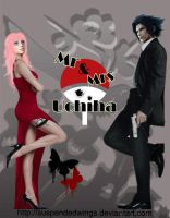 Mr and Mrs Uchiha by suspendedwings