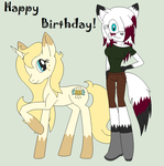 Birthday Gift For My Sis! by TheVampiresRose