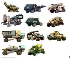 vehicles concepts by hision