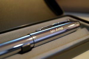 Parker Fountain Pen by yitleng