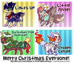 Christmas Themed Designs for Auction(closed): by PrePAWSterous