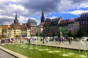 Summer in the city - Strasbourg, France by Cloudwhisperer67