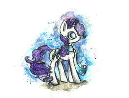 Rarity's winter by smartMeggie