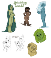 ARCADIA DOODLES by AgentDax