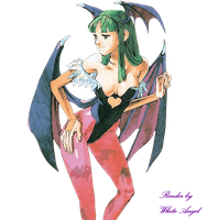 MvC2 Morrigan Aensland Render by WhiteAngel50000