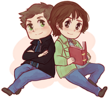 SPN - Winchester Bros by say0ran