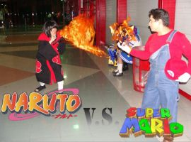 Mario Fire vs Itachi Fire by keught
