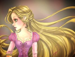 RAPUNZEL by 0Aqua-Mermaid0
