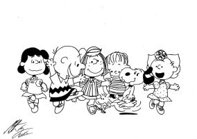 Peanuts - In the Mood by MortenEng21