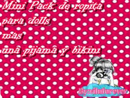 Mini pack de ropa para dolls by ByViluforever