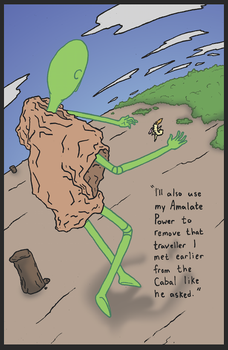 WKR:  The Saga of the Stranded Sorcerers, Page 45 by Orbital-Primeval