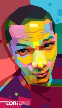 Toni Himself in WPAP by toniagustian
