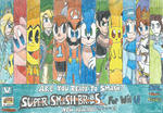 SSB For Wii U: Are You ready to smash? by FelixToonimeFanX360