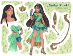Please meet discworldfan's Sailor Nunki! by nickyflamingo