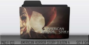 American Horror Story Season 4 Folder Icon by MaiconDesp